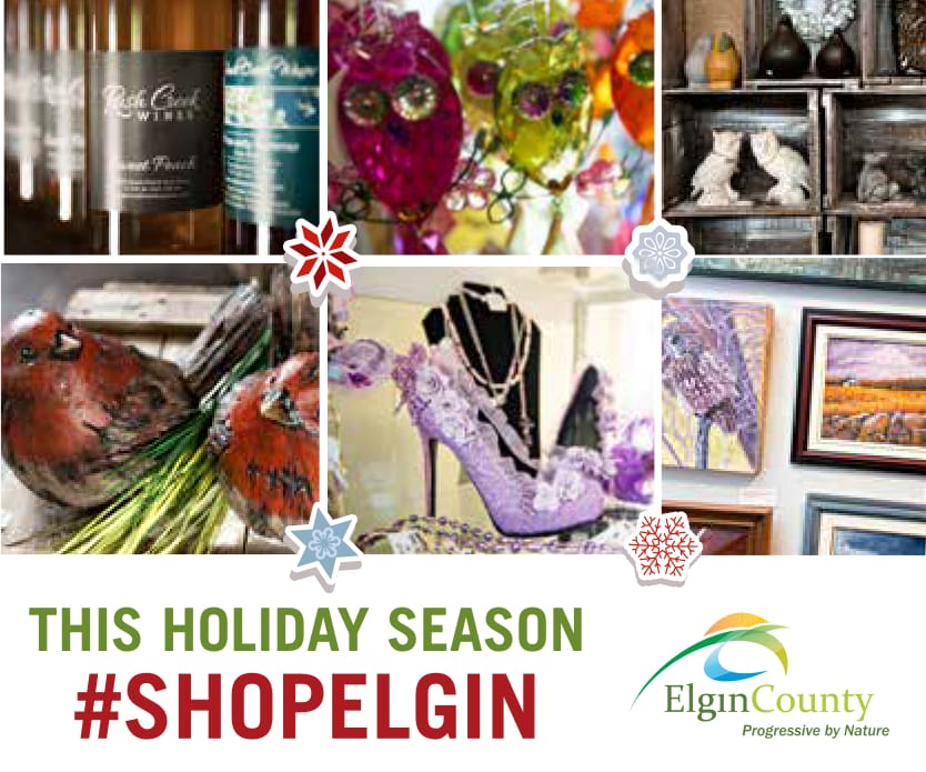 This Holiday Season #ShopElgin