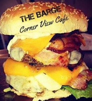Large hamburger